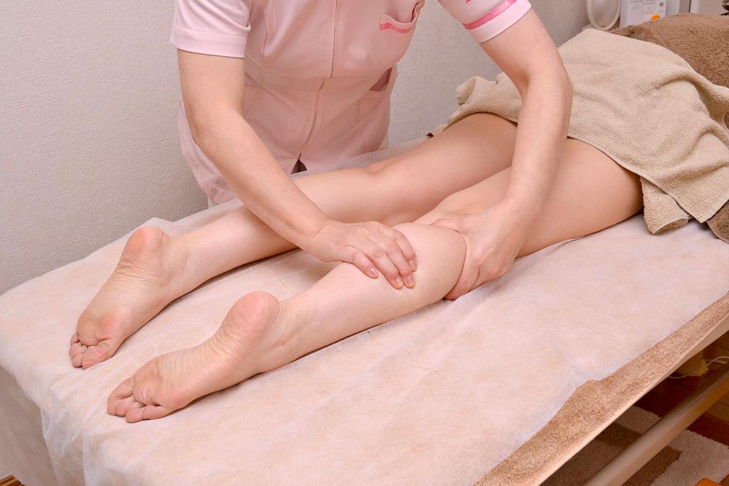 フットコース 脚のむくみ・疲れ、冷え・足首のたるみ、O脚、X脚など